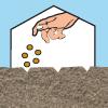 Barevné sáčky - piktogram 01