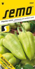 HOBBY, Zelenina - Paprika roční Slovanus F1, 2597 (Capsicum annuum L.)