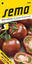 HOBBY, Zelenina - Rajče tyčkové Brunito F1, 3286 (Solanum lycopersicum L.)