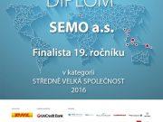 Společnost SEMO finalistou soutěže Exportní cena DHL UniCredit