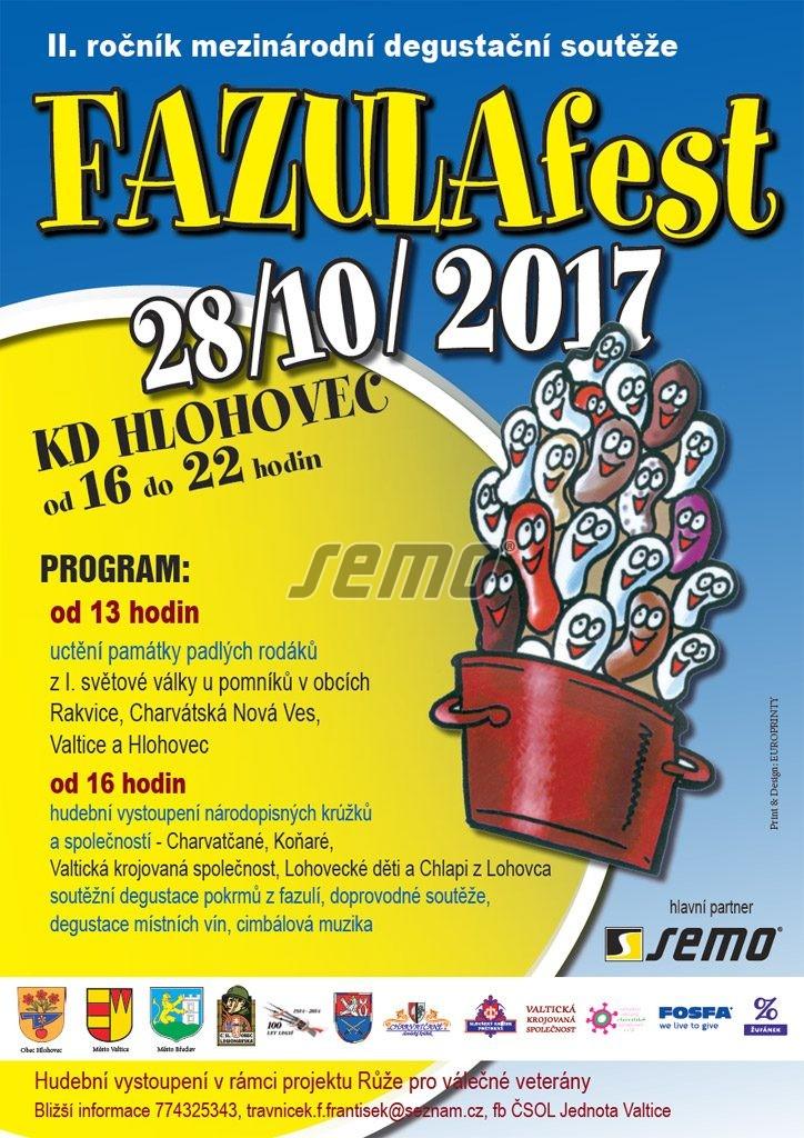 FAZULAfest 2017 - II. ročník mezinárodní degustační soutěže