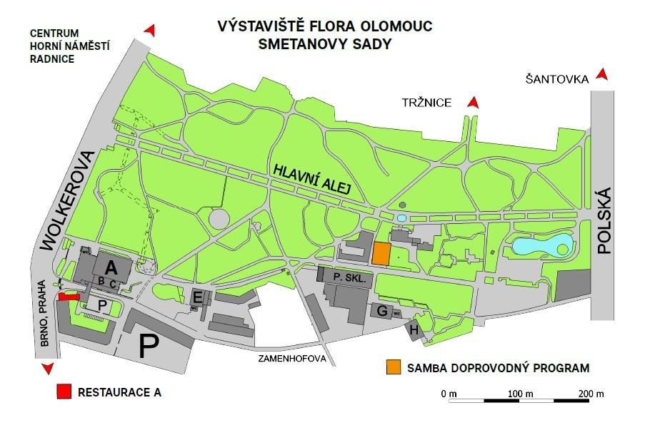 Pozvánka na výstavu Flora Olomouc 20. - 23. 4. 2017