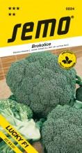 HOBBY, Zelenina - Brokolice Lucky F1, 0224 (Brassica oleracea L. convar. botrytis (L.) Alef. var. cymosa Duch.)