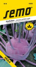 HOBBY, Zelenina - Kedluben Viola, 0353 (Brassica oleracea L. convar. acephala (DC) var. gongylodes)