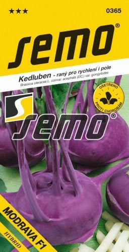 HOBBY, Zelenina - Kedluben Modrava F1, 0365 (Brassica oleracea L. convar. acephala (DC) var. gongylodes)