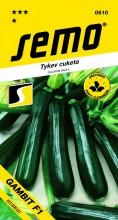 HOBBY, Zelenina - Tykev cuketa Gambit F1, 0610 (Cucurbita pepo. L.)