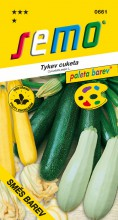 HOBBY, Zelenina - Tykev cuketa Směs barev, 0661 (Cucurbita pepo. L.)