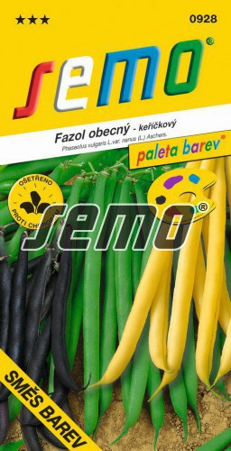 HOBBY, Zelenina - Fazol obecný keříčkový Směs barev, 0928 (Phaseolus vulgaris L.var. nanus (L.) Aschers.)