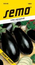 HOBBY, Zelenina - Lilek vejcoplodý Český raný, 1901 (Solanum melongena L.)