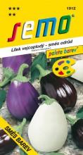 HOBBY, Zelenina - Lilek vejcoplodý Směs barev, 1912 (Solanum melongena L.)