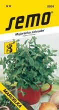 HOBBY, Zelenina - Majoránka zahradní Marcelka, 2001 (Origanum majorana L.)