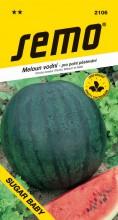 HOBBY, Zelenina - Meloun vodní Sugar Baby, 2106 (Citrullus lanatus (Thunb.) Matsum et Nakai)