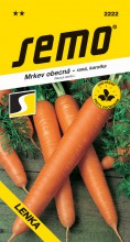 HOBBY, Zelenina - Mrkev obecná Lenka, 2222 (Daucus carota L.)