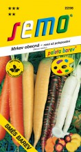 HOBBY, Zelenina - Mrkev obecná Směs barev, 2298 (Daucus carota L.)