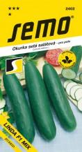 HOBBY, Zelenina - Okurka setá salátová Linda F1 Mix, 2402 (Cucumis sativus L.)