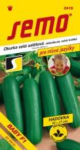 HOBBY, Zelenina - Okurka setá salátová hadovka Baby F1, 2419 (Cucumis sativus L.)