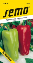 HOBBY, Zelenina - Paprika roční Rubinova, 2503 (Capsicum annuum L.)