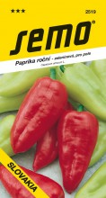 HOBBY, Zelenina - Paprika roční Slovakia, 2519 (Capsicum annuum L.)
