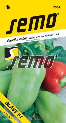 HOBBY, Zelenina - Paprika roční Slávy F1, 2534 (Capsicum annuum L.)