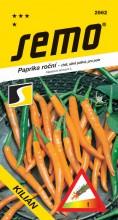 HOBBY, Zelenina - Paprika roční Kilián, 2562 (Capsicum annuum L.)