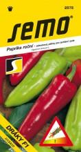 HOBBY, Zelenina - Paprika roční Dráky F1, 2575 (Capsicum annuum L.)