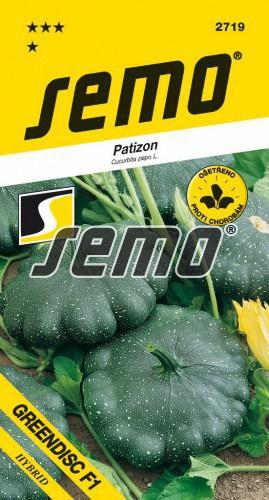 HOBBY, Zelenina - Patizon Greendisc F1, 2719 (Cucurbita pepo L.)
