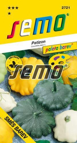 HOBBY, Zelenina - Patizon Směs barev, 2721 (Cucurbita pepo L.)