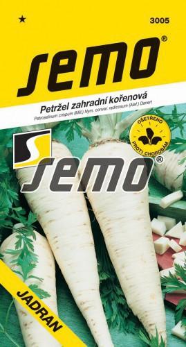 HOBBY, Zelenina - Petržel zahradní kořenová Jadran, 3005 (Petroselinum crispum (Mill.) Nym.convar.radicosum (Alef.) Danert)