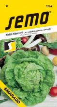 HOBBY, Zelenina - Salát hlávkový Smaragd S, 3704 (Lactuca sativa L. var.capitata L.)