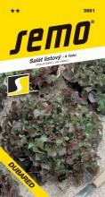 HOBBY, Zelenina - Salát listový Dubared, 3861 (Lactuca sativa L. var.crispa L.)