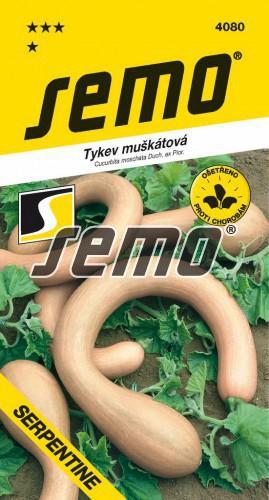 HOBBY, Zelenina - Tykev muškátová Serpentine, 4080 (Cucurbita moschata Duch. ex Poir.)