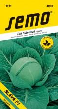 HOBBY, Zelenina - Zelí hlávkové Sláva F1, 4202 (Brassica oleracea L. convar.capitata (L.) Alef. var. alba DC.)