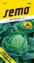 HOBBY, Zelenina - Zelí hlávkové Unikát F1, 4206 (Brassica oleracea L. convar.capitata (L.) Alef. var. alba DC.)