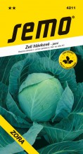 HOBBY, Zelenina - Zelí hlávkové Zora, 4211 (Brassica oleracea L. convar.capitata (L.) Alef. var. alba DC.)