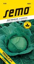HOBBY, Zelenina - Zelí hlávkové Trvalo F1, 4231 (Brassica oleracea L. convar.capitata (L.) Alef. var. alba DC.)