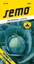 HOBBY, Zelenina - Zelí hlávkové Ritmo F1, 4243 (Brassica oleracea L. convar.capitata (L.) Alef. var. alba DC.)