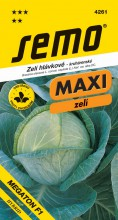 HOBBY, Zelenina - Zelí hlávkové Megaton F1, 4261 (Brassica oleracea L. convar.capitata (L.) Alef. var. alba DC.)