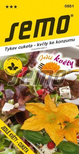 HOBBY, Zelenina - Tykev cuketa Jedlé květy, 0651 (Cucurbita pepo. L.)