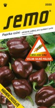 HOBBY, Zelenina - Paprika Habanero Chocolate - pálivá, 2555 (Capsicum chinense)