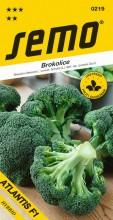 HOBBY, Zelenina - Brokolice Atlantis F1, 0219 (Brassica oleracea L. convar. botrytis (L.) Alef. var. cymosa Duch.)