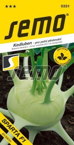HOBBY, Zelenina - Kedluben Sparta F1, 0331 (Brassica oleracea L. convar. acephala (DC) var. gongylodes)
