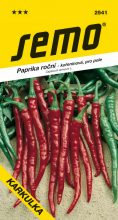 HOBBY, Zelenina - Paprika roční Karkulka, 2541 (Capsicum annuum)