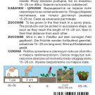 HOBBY, Zelenina – Tykev cuketa Emperol F1, 0615