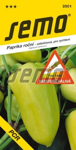 HOBBY, Zelenina - Paprika roční PCR, 2501 (Capsicum annuum L.)