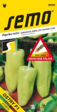 HOBBY, Zelenina - Paprika roční Ostry F1, 2530 (Capsicum annuum L.)