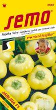 HOBBY, Zelenina - Paprika roční Jablina F1, 2546 (Capsicum annuum L.)
