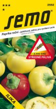 HOBBY, Zelenina - Paprika roční Ilika, 2552 (Capsicum annuum L.)