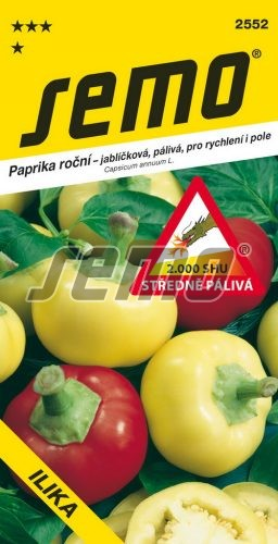 HOBBY, Zelenina - Paprika Ilika - pálivá, 2552 (Capsicum annuum L.)