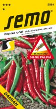 HOBBY, Zelenina - Paprika roční Damián, 2561 (Capsicum annuum L.)