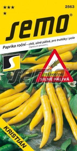HOBBY, Zelenina - Paprika roční Kristián, 2563 (Capsicum annuum L.)
